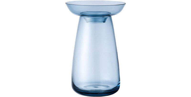 Kinto Aqua Culture Vase - blue small