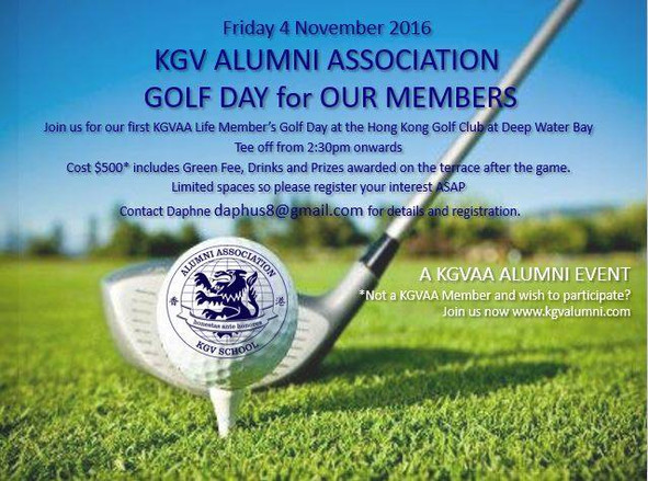 Exclusive Life Member GOLF DAY