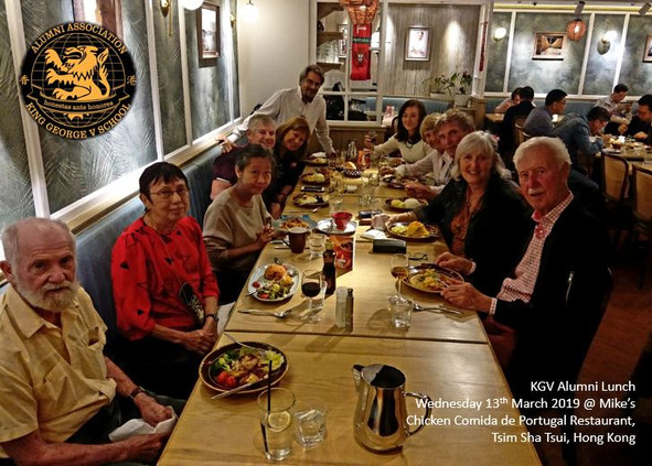 KGV Alumni Lunch - March 2019