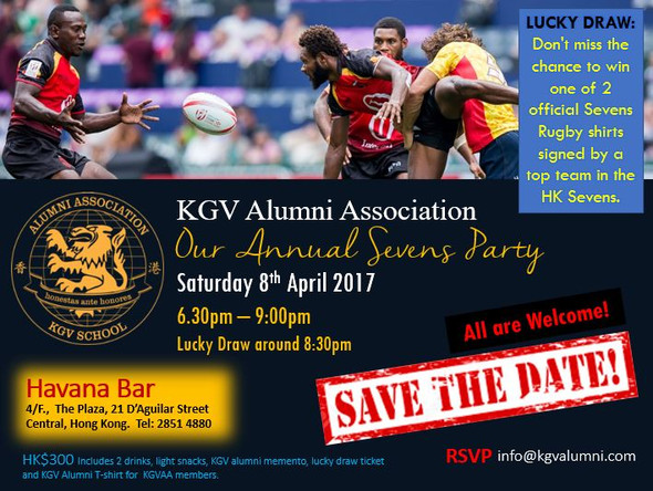 It's time to countdown for our Annual 7s Party!