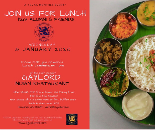 Hope to see some of you at the first lunch of this year...