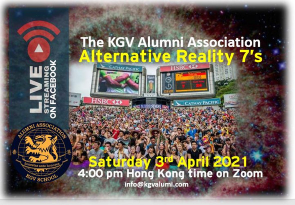 KGV Alumni Alternative Reality 7's Zoom Call (15-hours).