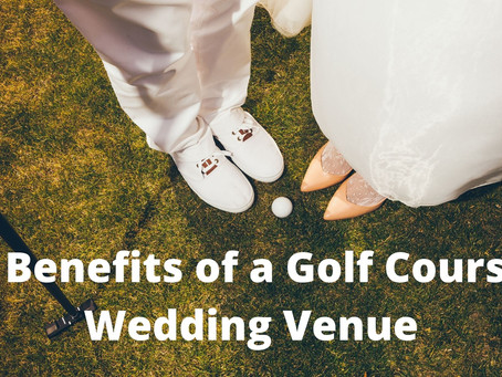 Tee off your married life with a hole-in-one wedding venue… your favourite golf course.