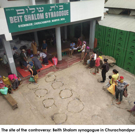 Drama, tension, precede third round of food distribution in Manipur.