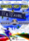 affiche plaquette brives cup 2020 nation