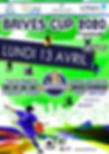affiche plaquette brives cup 2020  regio