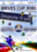 affiche plaquette brives cup 2020 pitcho