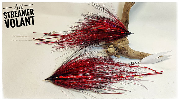 Streamer Fashabou Rouge