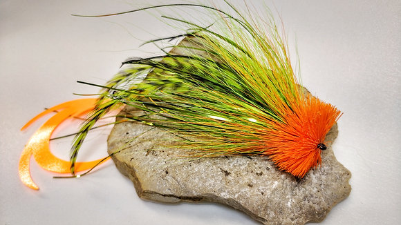 Streamer Buford Orange et Vert.