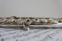 Flûte traversière Music Notes