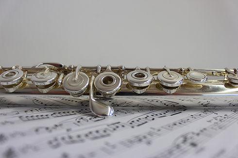 Флейта Музыкальные ноты