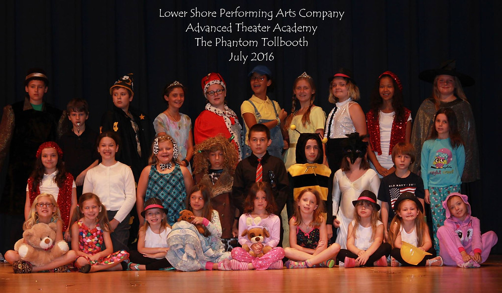 Lower Shore Performing Arts Company Advanced Theater Academy students
