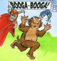 Booga-Booga! the musical for kids by Al Clogston