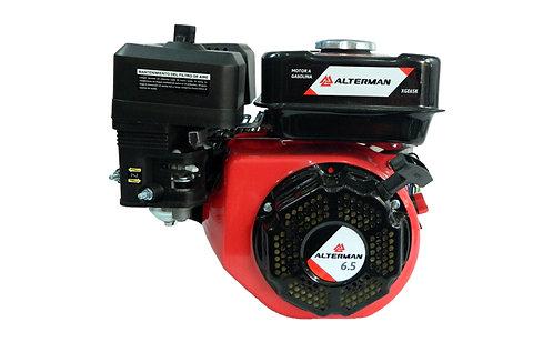 Motor a Gasolina ALTERMAN 6.5 HP Eje de Cuña de 1 Pulg
