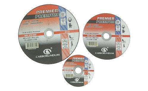 Disco Corte Metal Premier Premium Carborundum 4.5, 7 Y 9
