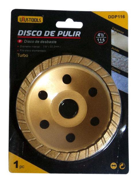 "Disco para Pulir Turbo de 4-1/2"""
