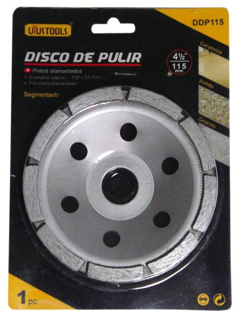 "Disco para Pulir Seco de 4-1/2"""