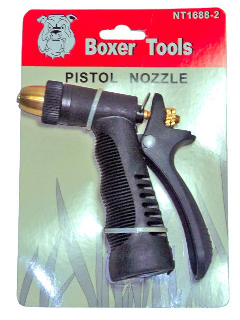Pistola para Manguera con Punta en Bronce