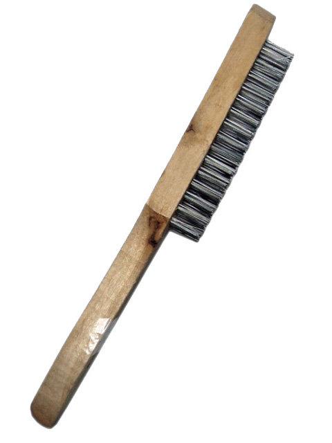 Cepillo Mando de Madera de 4 Líneas