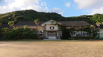 青海島共和国(旧青海島小学校)
