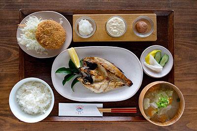 おすすめ ひもの定食 ゆうやけ ¥1,780(税込)