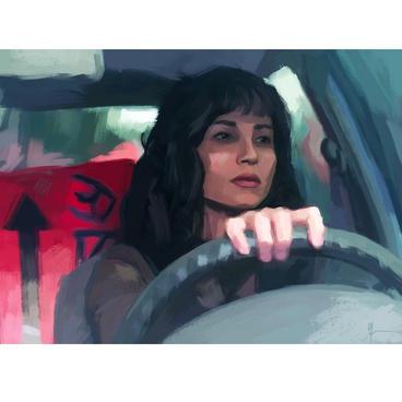 """Yolanda Santa Cruz """"Leaving the City"""""""