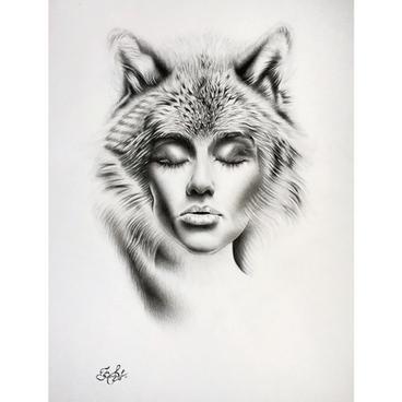 "Kate Stavniichuk ""She is wild"""