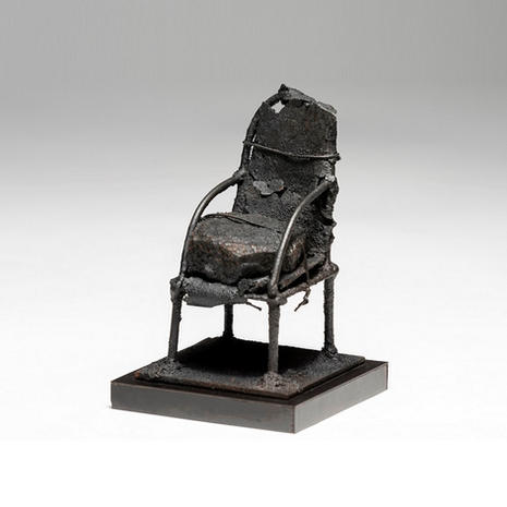"Ronald Gonzalez ""Rusted Chair #4"""