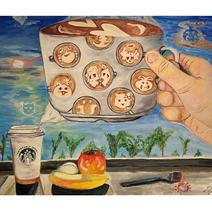 """Yuxin Qian """"Coffee Dream"""""""