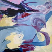 "Julia Hacker ""Abstract Landscape.Blue"""