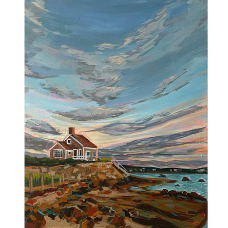 "Laura Dissly ""Cape House"""