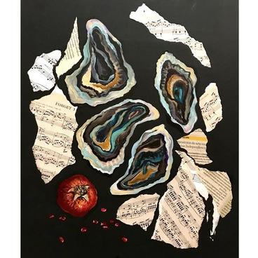 "Ekaterina Kvacheva ""August, Notes, Oysters"""