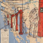 "Enrico Miguel Thomas ""96 St Subway Station"""