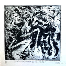 """Em Miller """"Actaeon Torn Apart By His Hounds"""""""