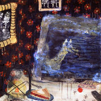 "Matt Rosenbaum ""Mythology Painting 1 (Rudiments)"""