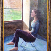 """Aviva Sakolsky """"Joanna by the Window"""""""