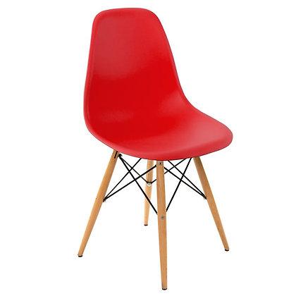 Silla Eames Molded Rojo