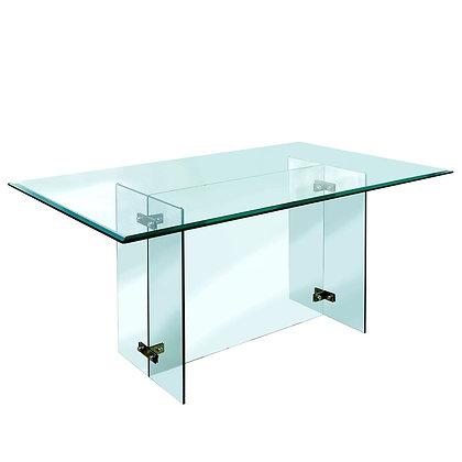 Mesa Comedor Clear 150x150 cm.