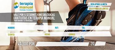Terapia Manual diseño cupon