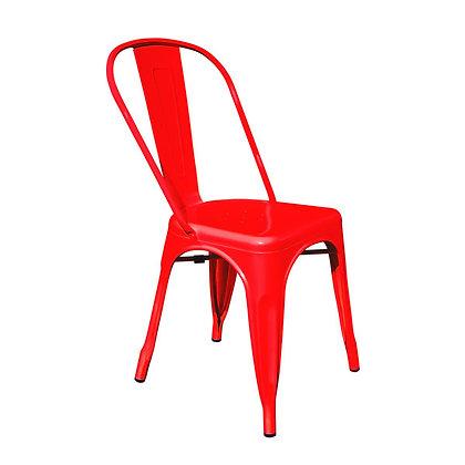 Silla Tolix Rojo