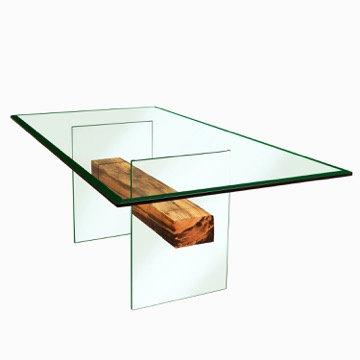 Mesa Comedor Viga Roble 200x100 cm.