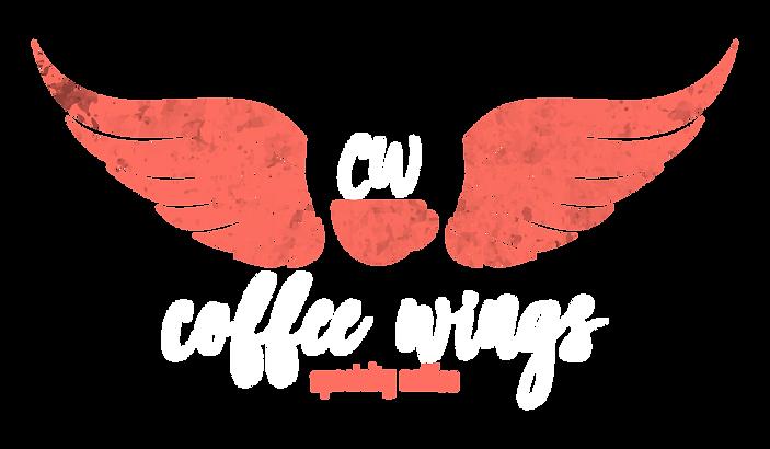logo coffee wings, cafe de especialidad, café, coffee