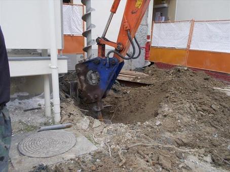 エレベーター増築工事