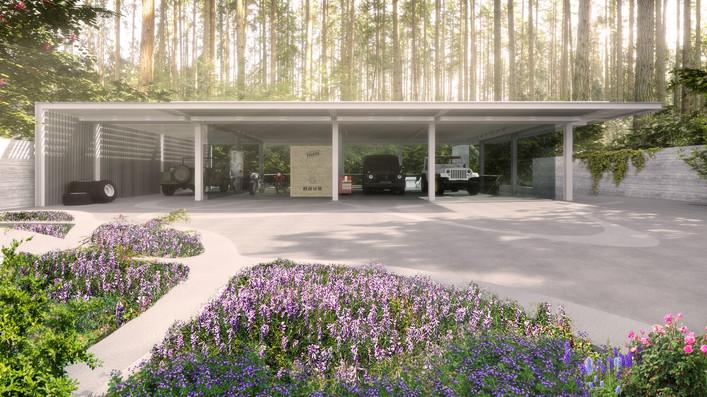 Auto-enthusiast's Residence