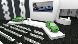 Návrh event konference Škoda auto