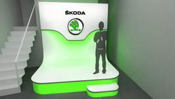 Návrh event Škoda auto