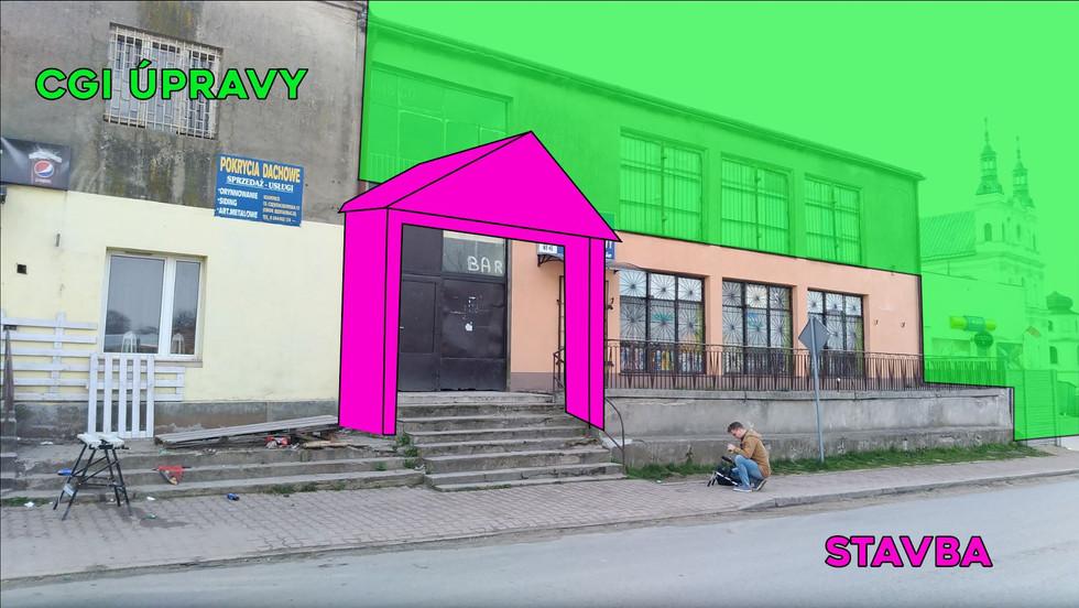 Lokace / stavba / CGI