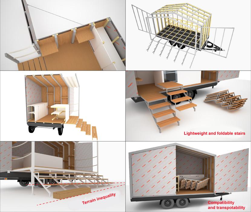 Pup-up, stand, roadshow, design, Event, Návrh, Dobrý, Originální, Original, Tomáš Jaroš, Concept, Vizualizace, Visualization, Moderní