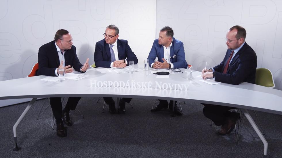 Economia, Aktualne.cz, DVTV, Návrh dekorace, Návrh studia, Architekt, Scénograf, Dekorace, Kulisy, Broadcast, TV, Studio, Design, Tomas Jaros