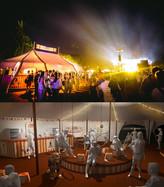 Kofola - Summer festival lounge design